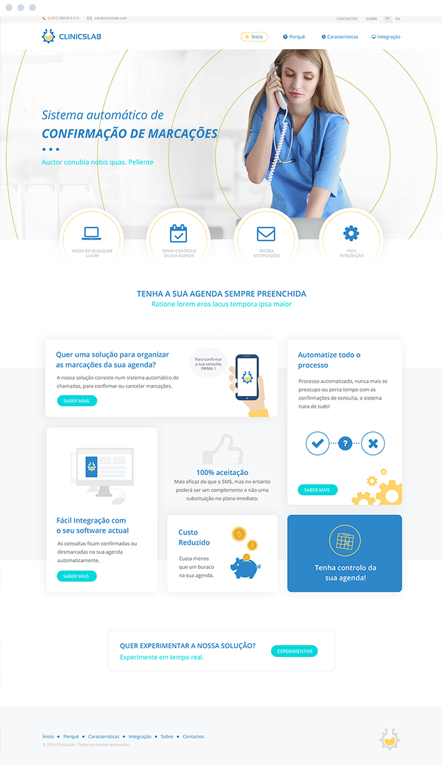 Website ClinicsLab
